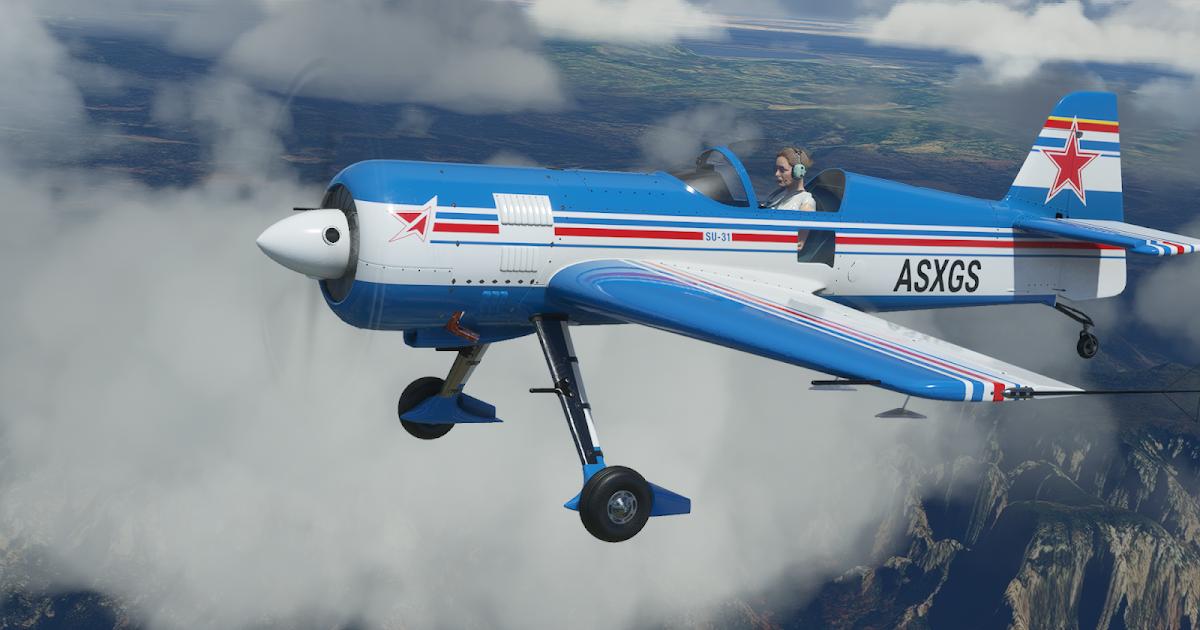 IndiaFoxtEcho Visual Simulations: SU-31 For Microsoft ...