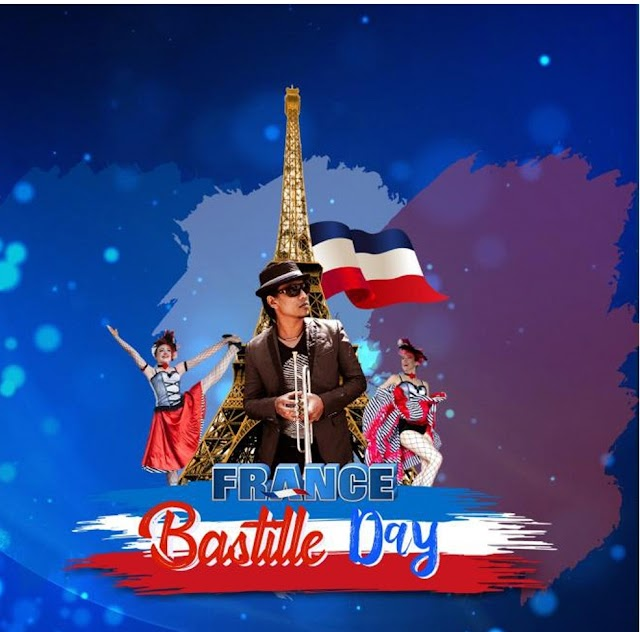 Enjoy the day with Boogie Jazz Band Featuring Rio Sidik At Discovery  Kartika  Plaza  Hotel in Enliven  Bastille  Day