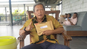 Kisah Gunadi Ibrahim Dalam Isolasi Corona, Kiriman Makan Pakai Genter