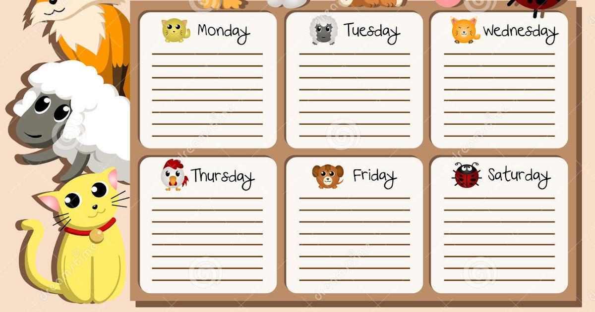 Расписание уроков на английском языке шаблоны распечатать, горка