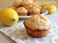 Muffins de Limón, Jengibre Fresco y Yogur