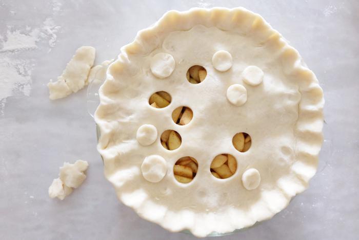 layering on top crust