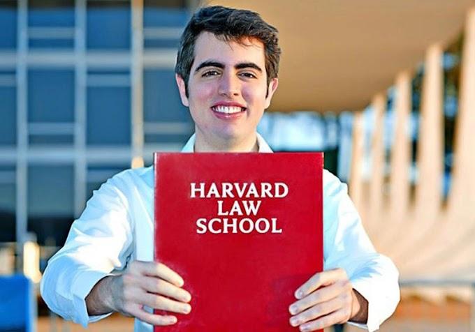 Brasileiro é o mais jovem do mundo em mestrado para direito em Harvard