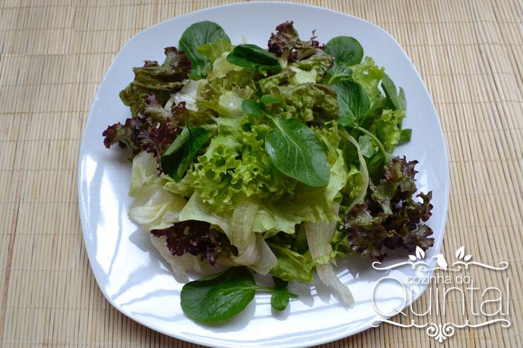 70g de folhas verdes e o resultado é um prato cheio!
