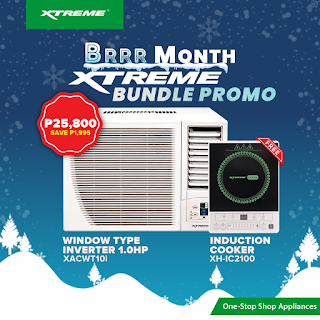 FREE appliances on XTREME BRRR Month Aircon Bundle Promo