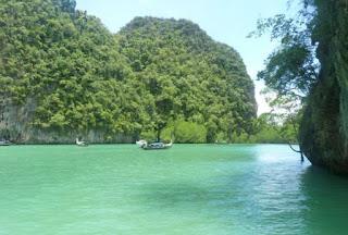 Excursión a la Isla de Hong o Koh Hong. Hong Lagoon.