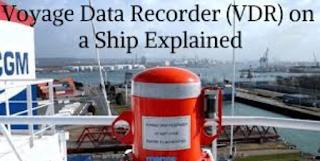 VOYAGE DATA RECORDER BLACKBOX PADA KAPAL