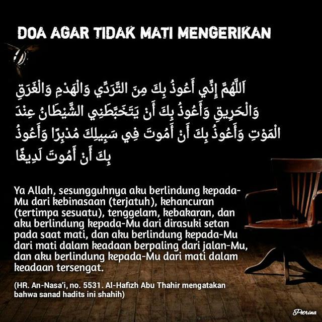 Mati Bisa Datang Secara Tiba-tiba, Hafal dan Amalkan Doa Penghindar Mati Mengerikan