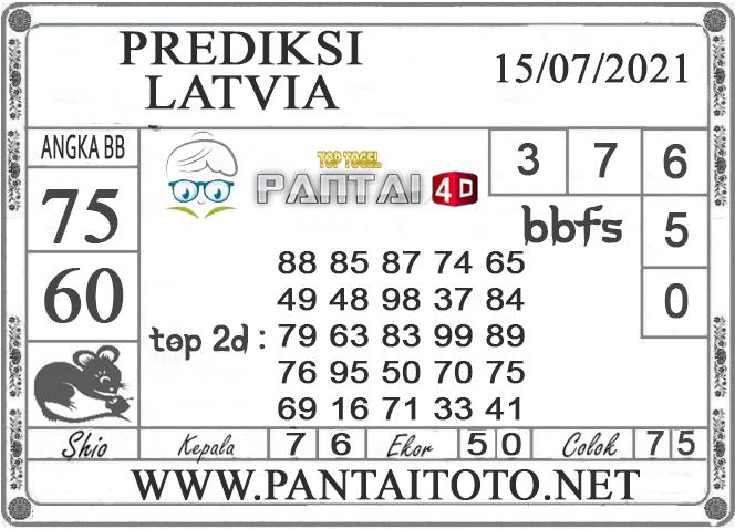 PREDIKSI TOGEL LATVIA PANTAI4D 15 JULI 2021