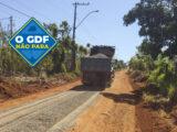 O GDF, faz Manutenção de ruas no Setor Lago Oeste, em Soabradinho II