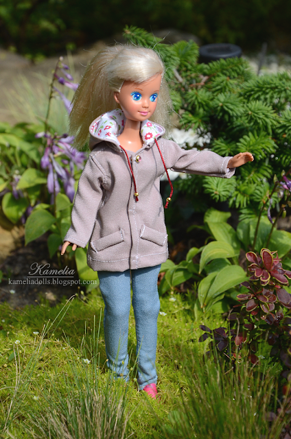 Parka jacket for dolls