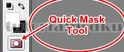 02 Cara Seleksi Menggunakan Quick Mask Tool - Topikramdani.com