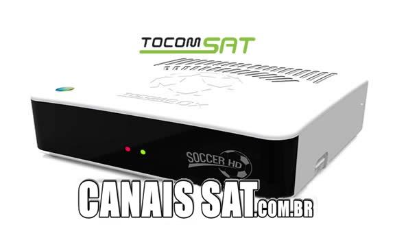 Tocombox Soccer HD Atualização DRMCAM V2.007 - 28/12/2020