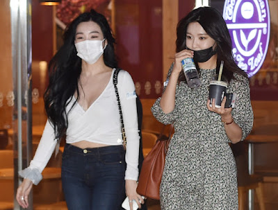 SNSD Sooyoung Tiffany Okay Madam
