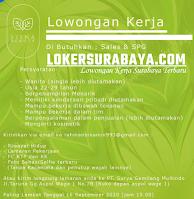Loker Surabaya di Lisna Beauty Jawa Timur September 2020
