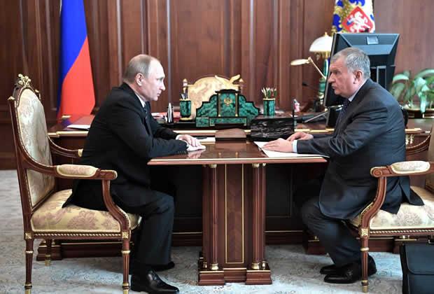 Putin aprueba nuevas inversiones de Rosneft en Venezuela