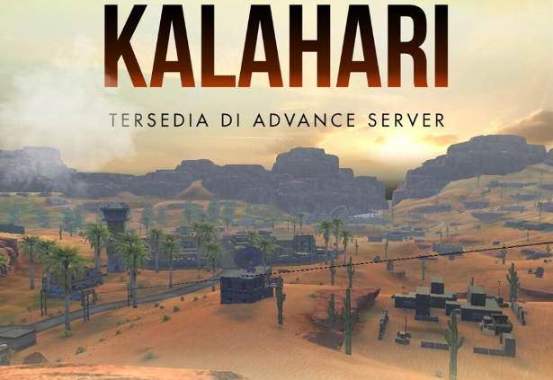 Map Baru Kalahari Free Fire Bakal Rilis di Advance Server November 2019