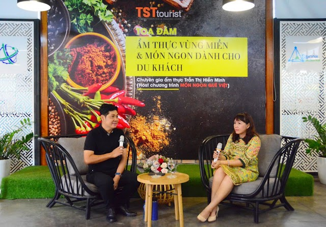 """Tọa đàm """"Văn hóa ẩm thực vùng miền và món ngon"""" cho du khách"""