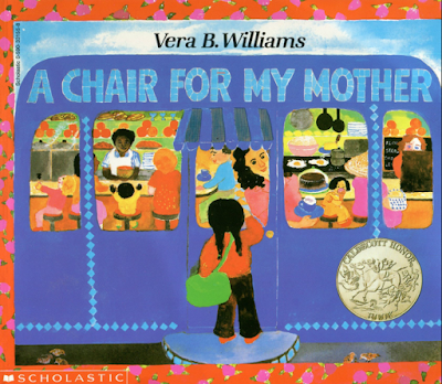 READ ALOUD: This is the story of a girl and her mom who need to save money to buy a comfortable chair after a fire destroys their home. It's a beautiful story about sacrifice, family, and community! Perfect for the beginning of the year!