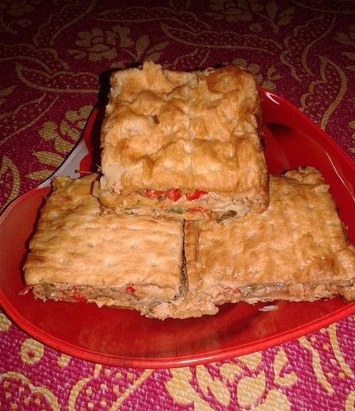 Resepi Murtabak Biskut Sardin!! (MsB)
