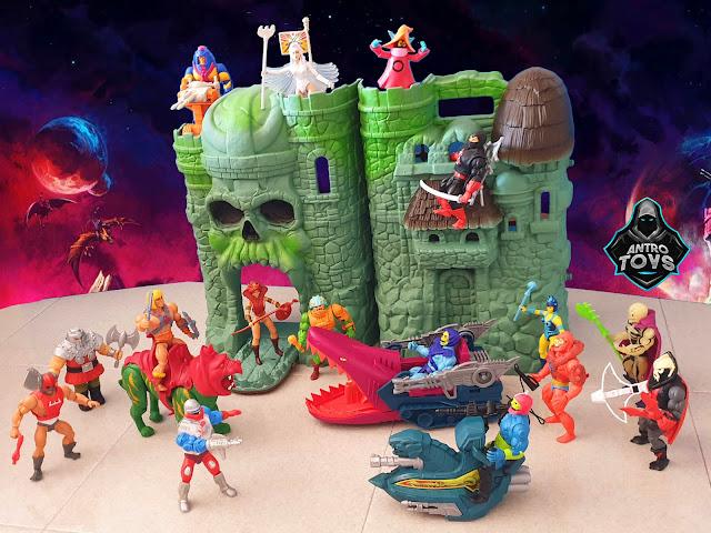 Masters of the Universe Origins Castello di Grayskull Castle nuovo Antro recensione