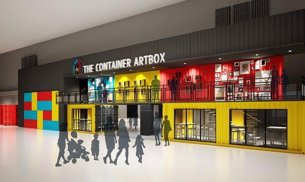 Pusat Membeli-belah Konsep Kontena, Container Artbox di Da Men Mall