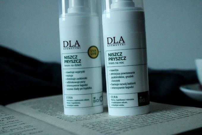 Kosmetyki DLA, Niszcz Pryszcz, krem na dzień i na noc