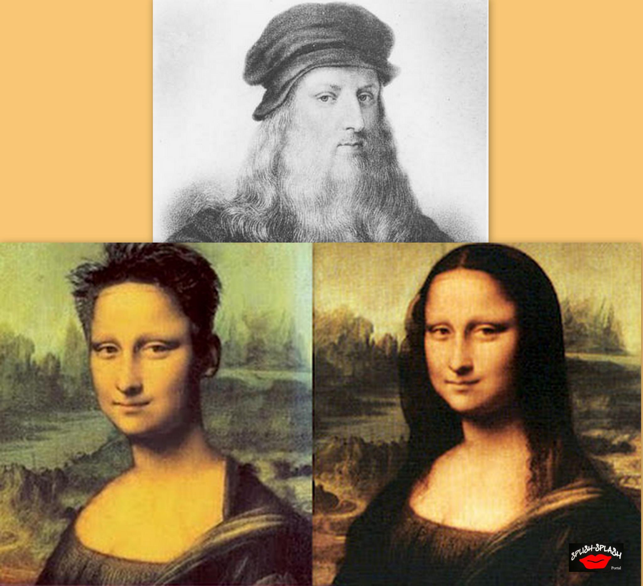 Anda a circular pelo Facebook uma foto de um quadro com a famosa Mona Lisa diferente daquele que está exposto no Museu do Louvre em Paris, uma pintura a óleo sobre madeira e álamo, com o nome oficial de Lisa Gherardini, mulher de Francesco del Giocondo.
