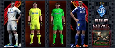 FC Dynamo Kyiv kits 16-17