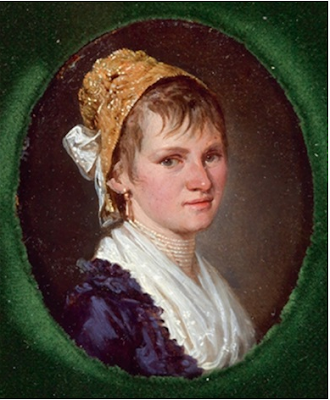 Portrait d'une Jeune Femme, Barbara Krafft