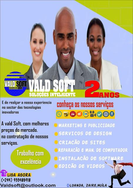 Vald Soft soluções Inteligente, aproveita esta promoção de nossos serviços
