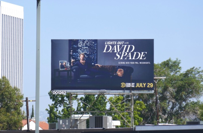 Lights Out David Spade billboard