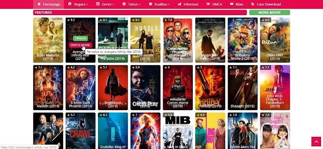 1. Cara Download Film di LK21
