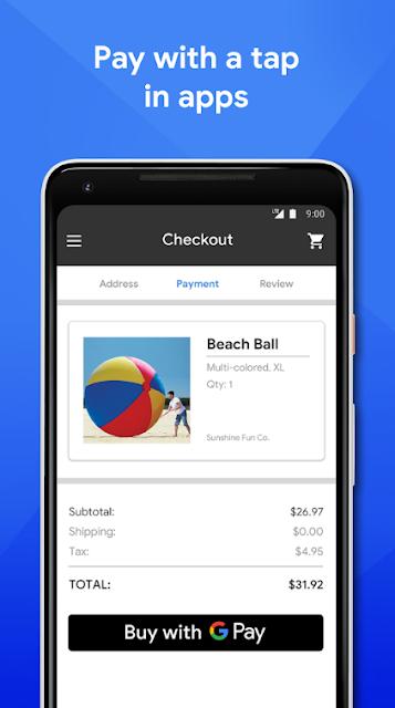 Pay dapat diunduh dari app store