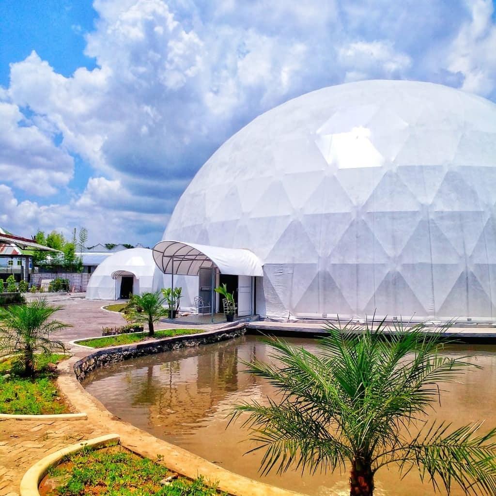 Wisata Teknologi 360 Dome Theatre