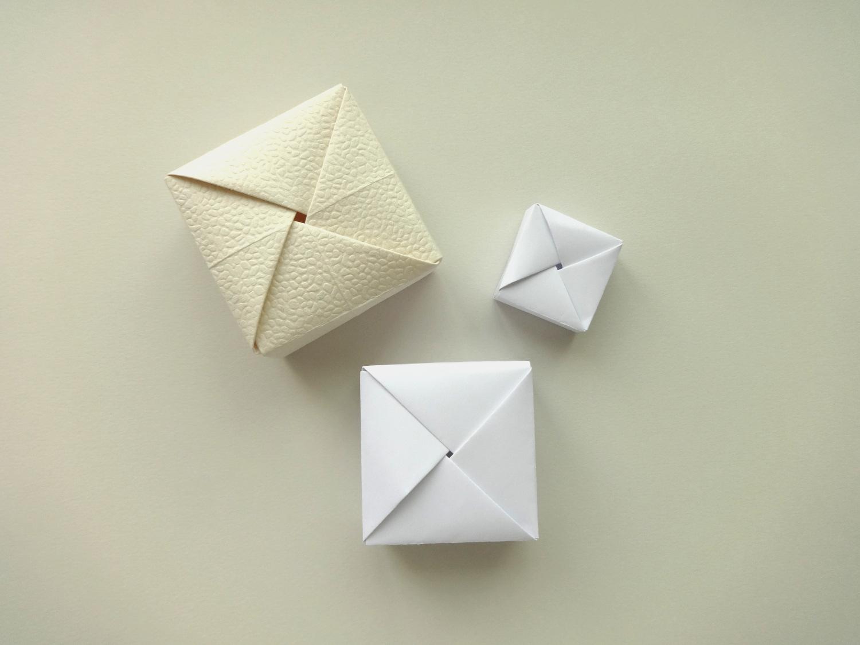 Origami Cube | 1125x1500