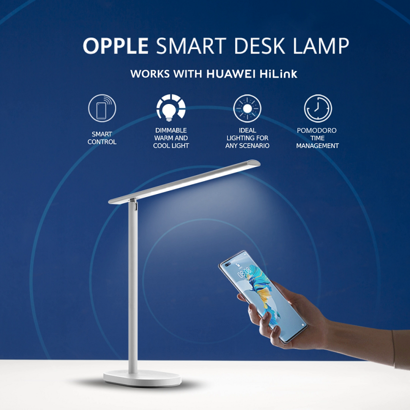 HUAWEI HiLink-supported OPPLE Smart Desk Lamp