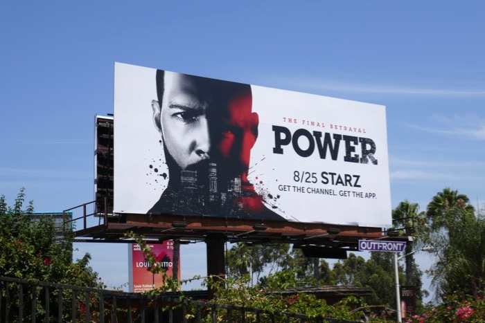 Power final season billboard