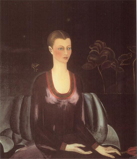 Фрида Кало - Портрет Алисии Галант. 1927