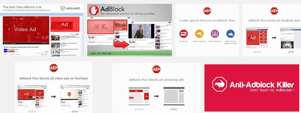 इन्टरनेट 'विज्ञापन' कंपनियों एवं 'एड ब्लॉकर्स' की जंग! Ad block filter, Internet Advertising Companies, Facebook Ads, Google Adwords, Hindi Article