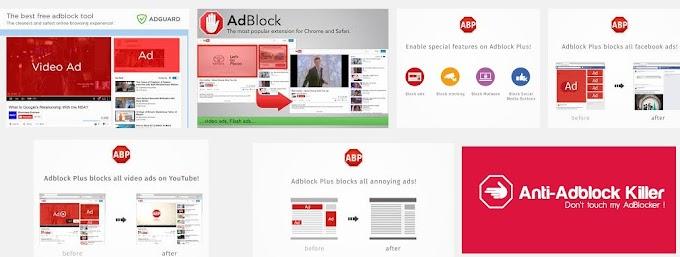 इन्टरनेट 'विज्ञापन' कंपनियों एवं 'एड ब्लॉकर्स' की जंग! Ad block filter, Internet Advertising Companies, Facebook Ads, Google Adwords, Hindi Article, New, Anti Ad block Script