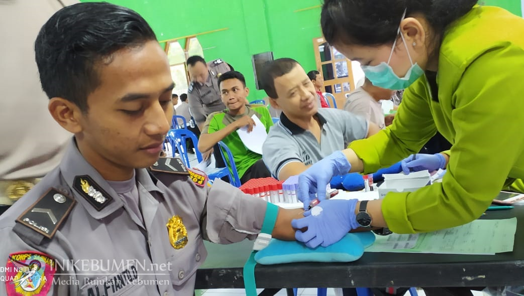 Kesehatan Polisi Kebumen Diperiksa BiddokkesPolda Jateng