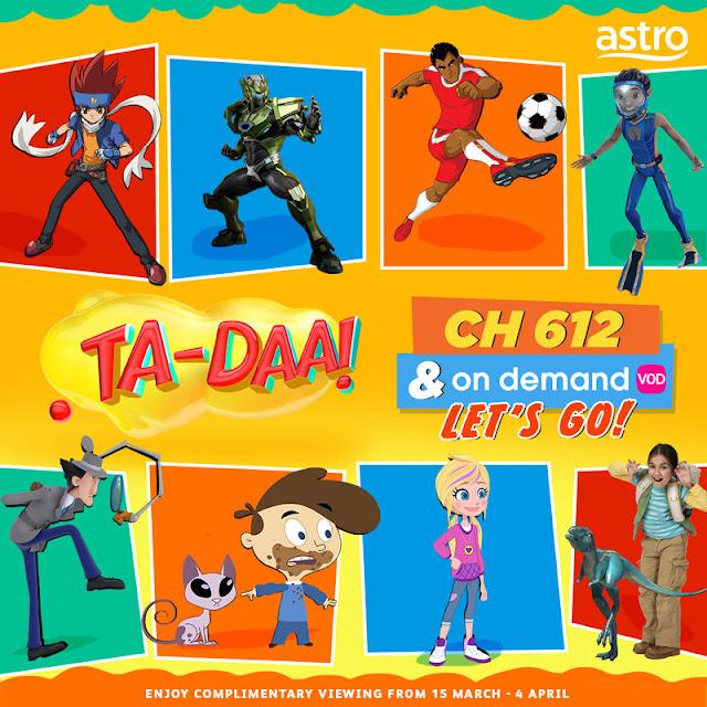 Ta-Daa! (CH 612) Rancangan Kanak-Kanak Terbaru Daripada Astro (Kids Pack)