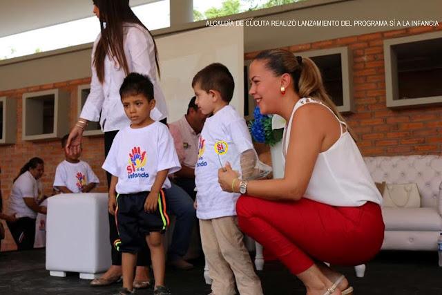 """Nuevo Programa """"Sí a la infancia"""" beneficiará a más de 5000 menores: Alcaldía de Cúcuta #RSY #OngCF"""