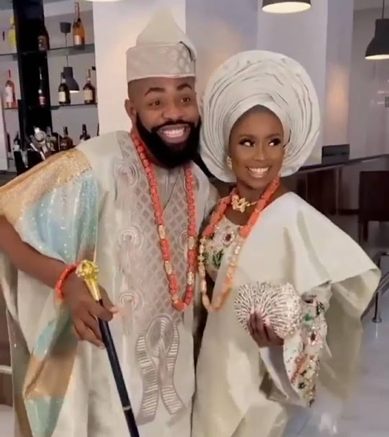 See the videos and Photos of Wole Arole wedding as he is officially married