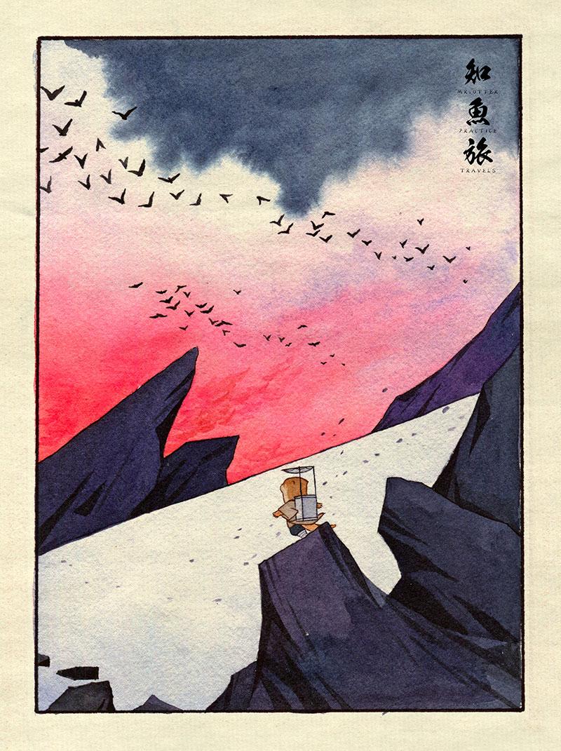 simon-lee-06 Mr.Otter's Practice Travels: Illustrations by Simon Lee Design