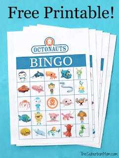 free Octonauts bingo