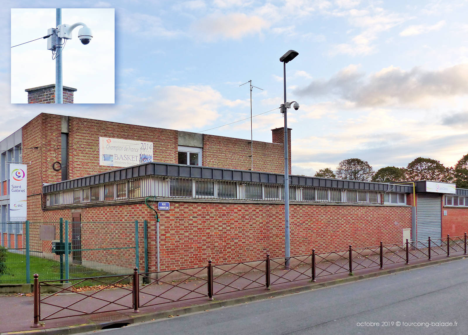Collège Saint Gabriel Tourcoing - Caméra Vidéosurveillance