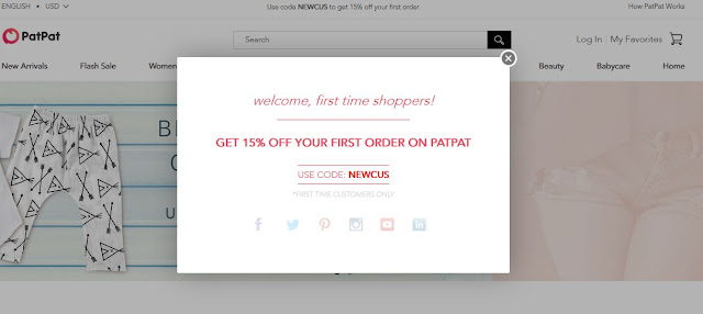 15% coupon code for PatPat, by barbies beauty bits