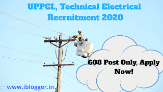 UPPCL, Technical Electrical Recruitment 2020 Online Form | 608 पद